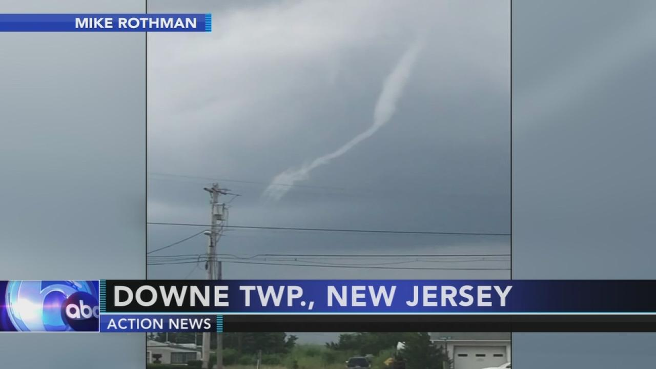 3 rescued when waterspout forms off NJ coast