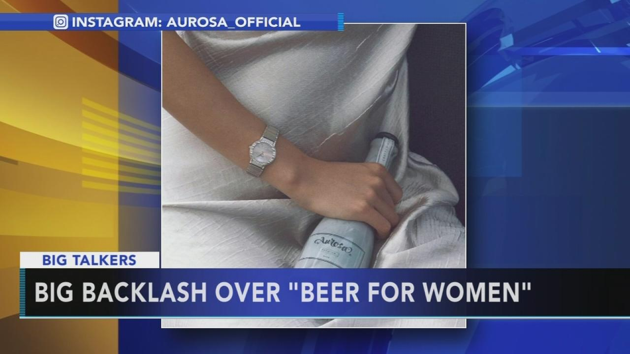 Backlash over beer for women