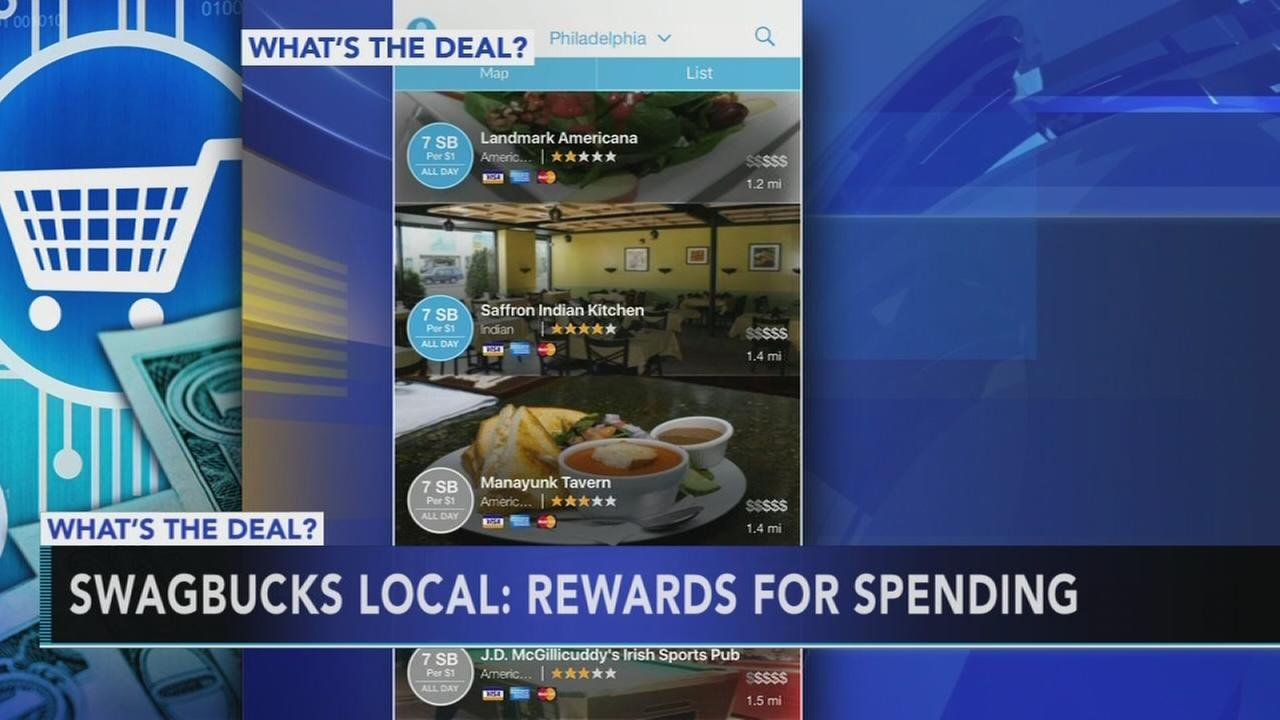 Swagbucks Local: Rewards for spending