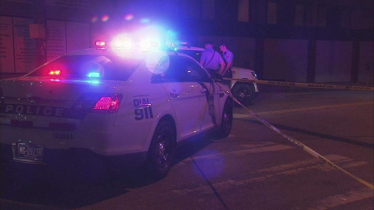 Woman shot in Olney