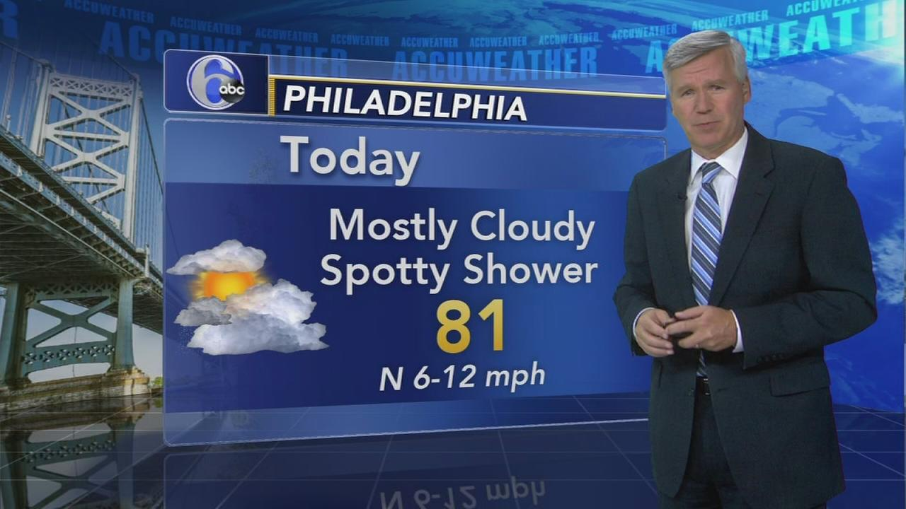 David Murphy with AccuWeather