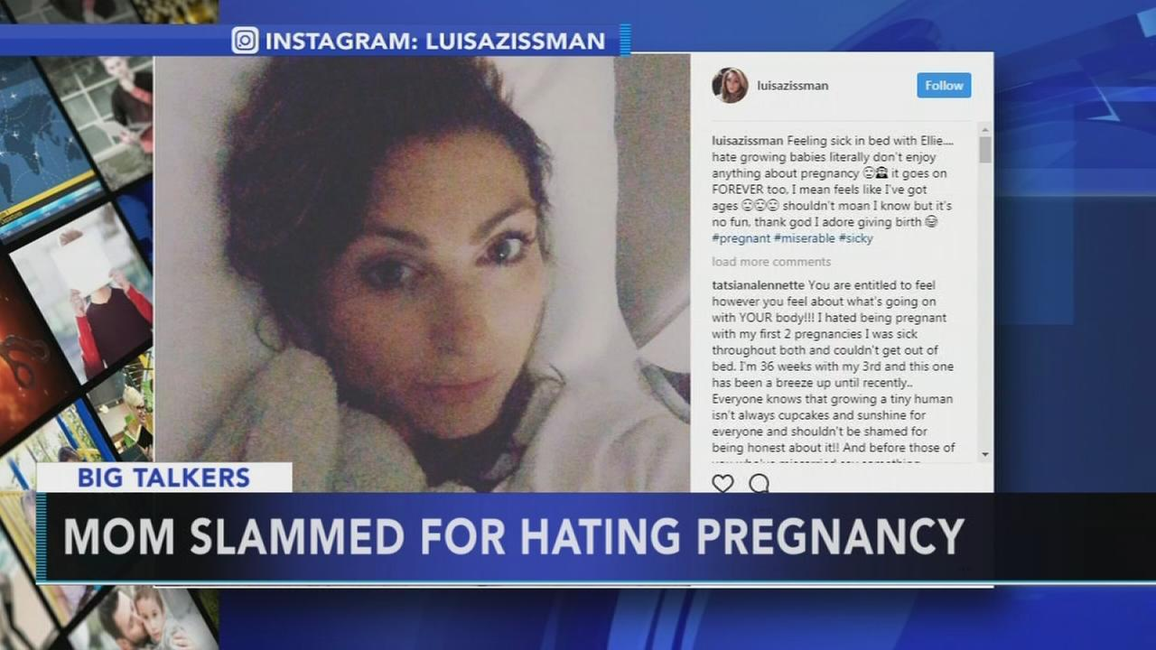 Mom starts social media debate after complaining about pregnancy