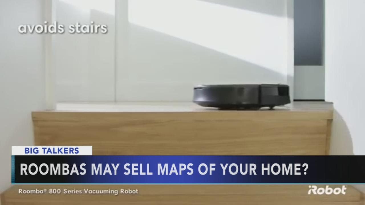 Roomba CEO wants to sell mapping data collected by vacuums