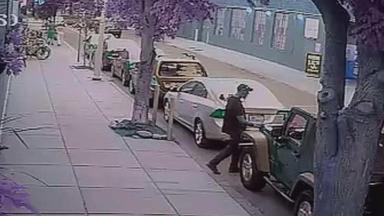 Jeep battery thefts in Center City