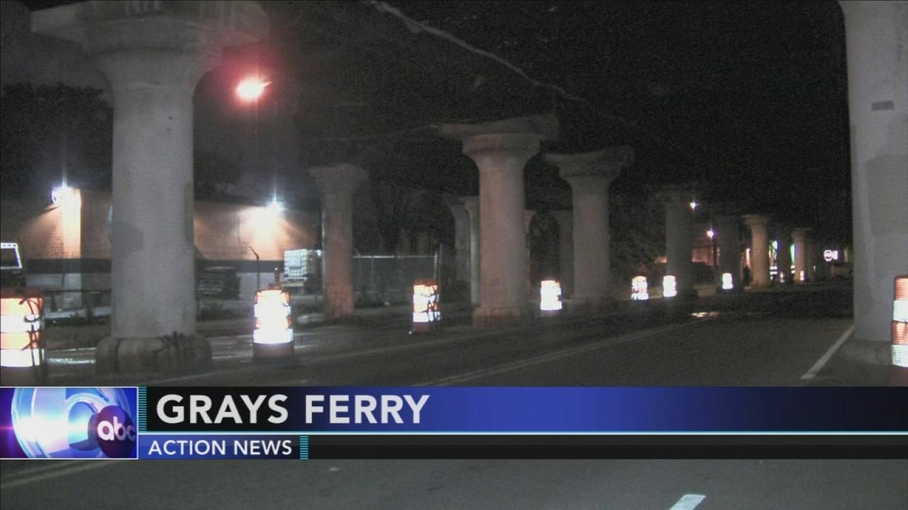 Search anti-police vandals in Grays Ferry