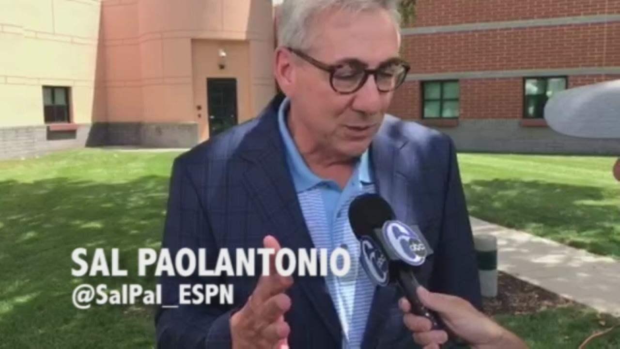 Sal Paolantonio on the Eagles expectations