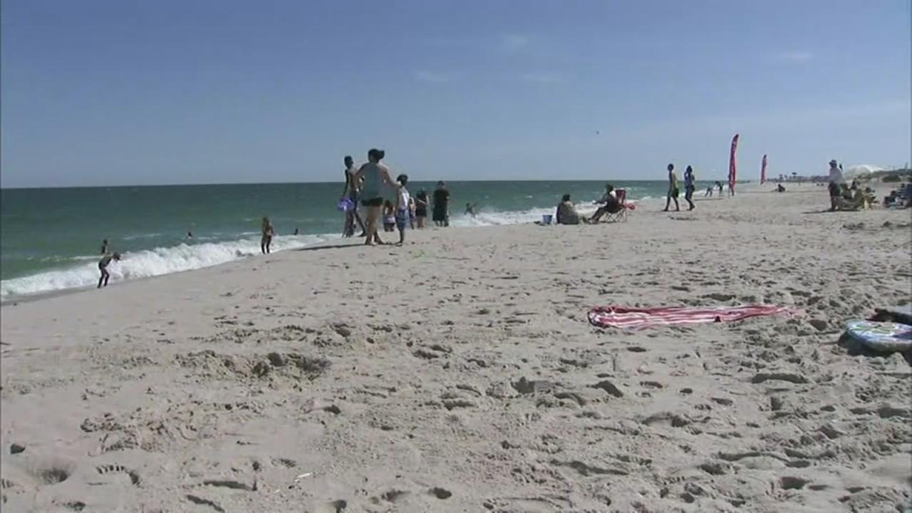 3 NJ beaches closed, 31 water quality advisories