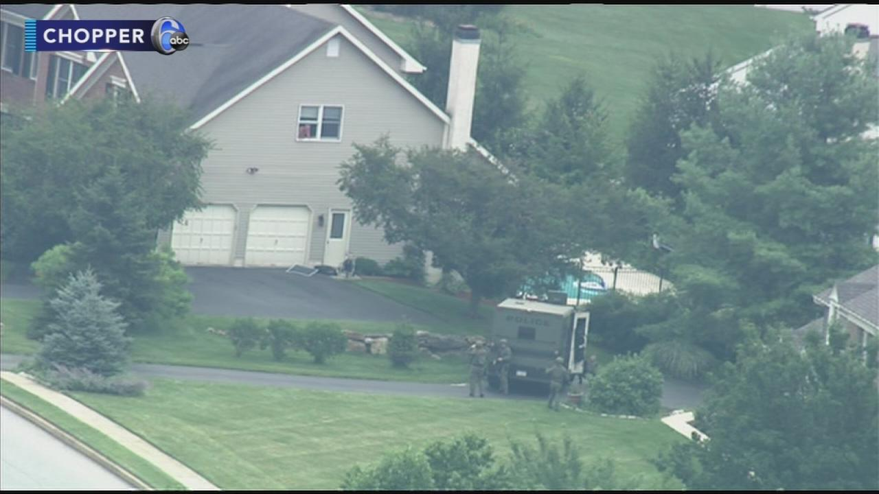Standoff ends in Uwchlan Township