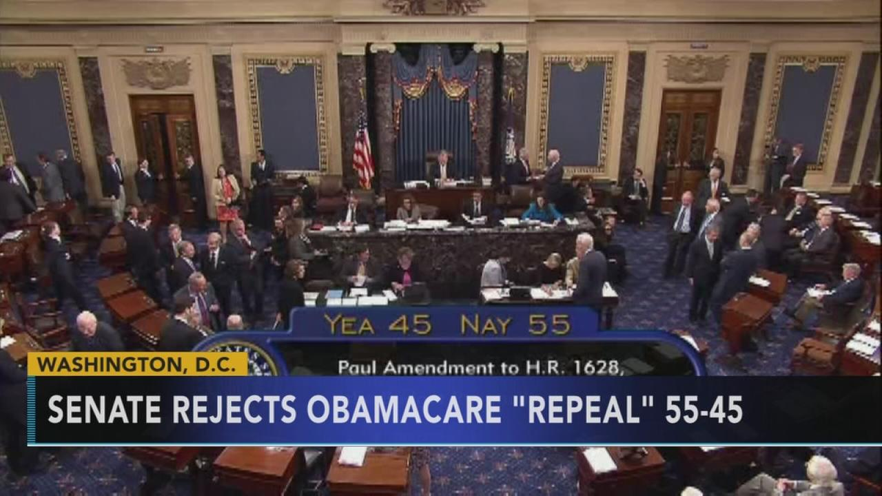 Senate rejects proposal for Obamacare repeal