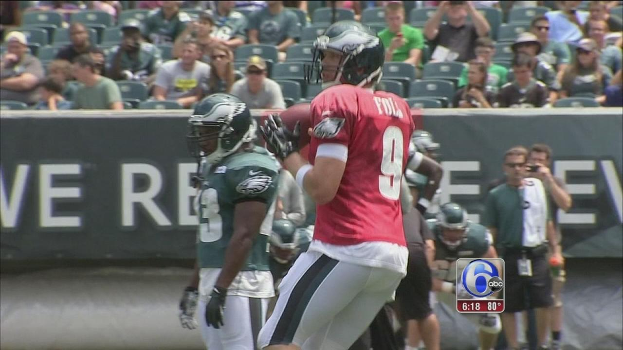 VIDEO: Eagles training camp