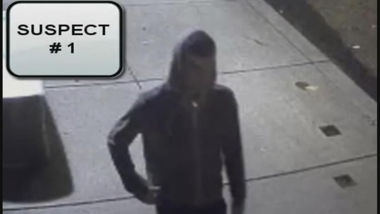 Surveillance video of Grays Ferry graffiti suspects