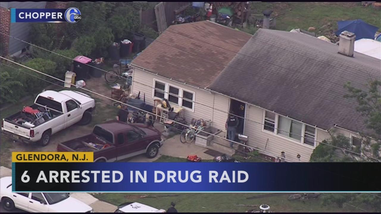 6 arrested in Gloucester Twp. drug bust
