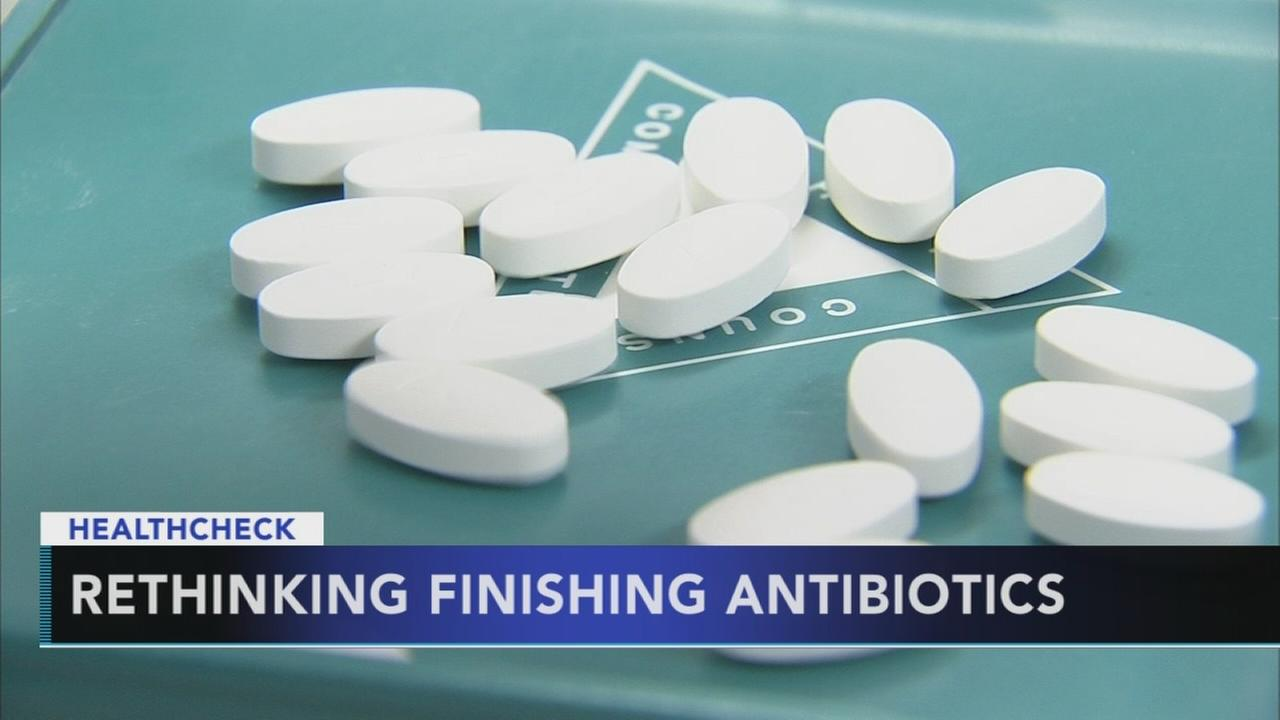 Rethinking finishing antibiotics