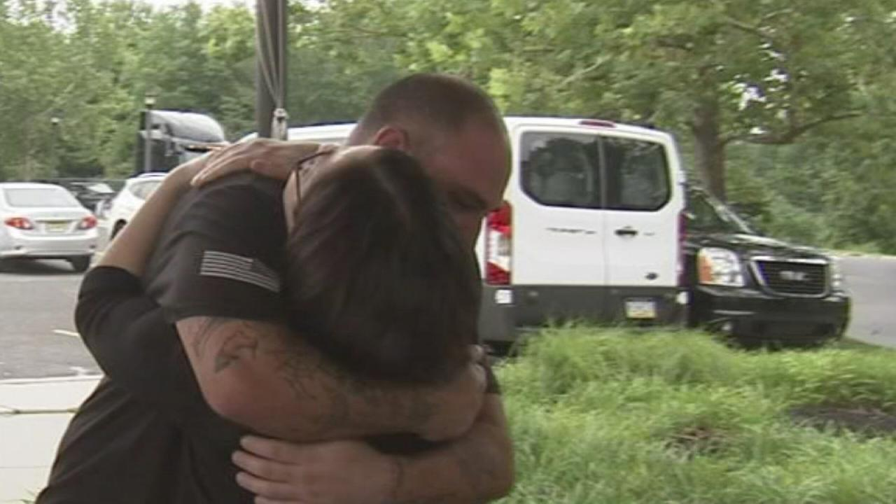 NJ Iraq War veteran meets his birth family