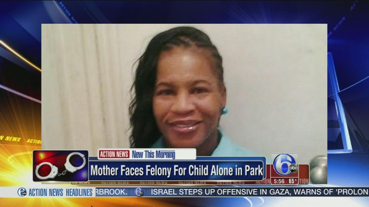 VIDEO: Mom faces felony for leaving child in park
