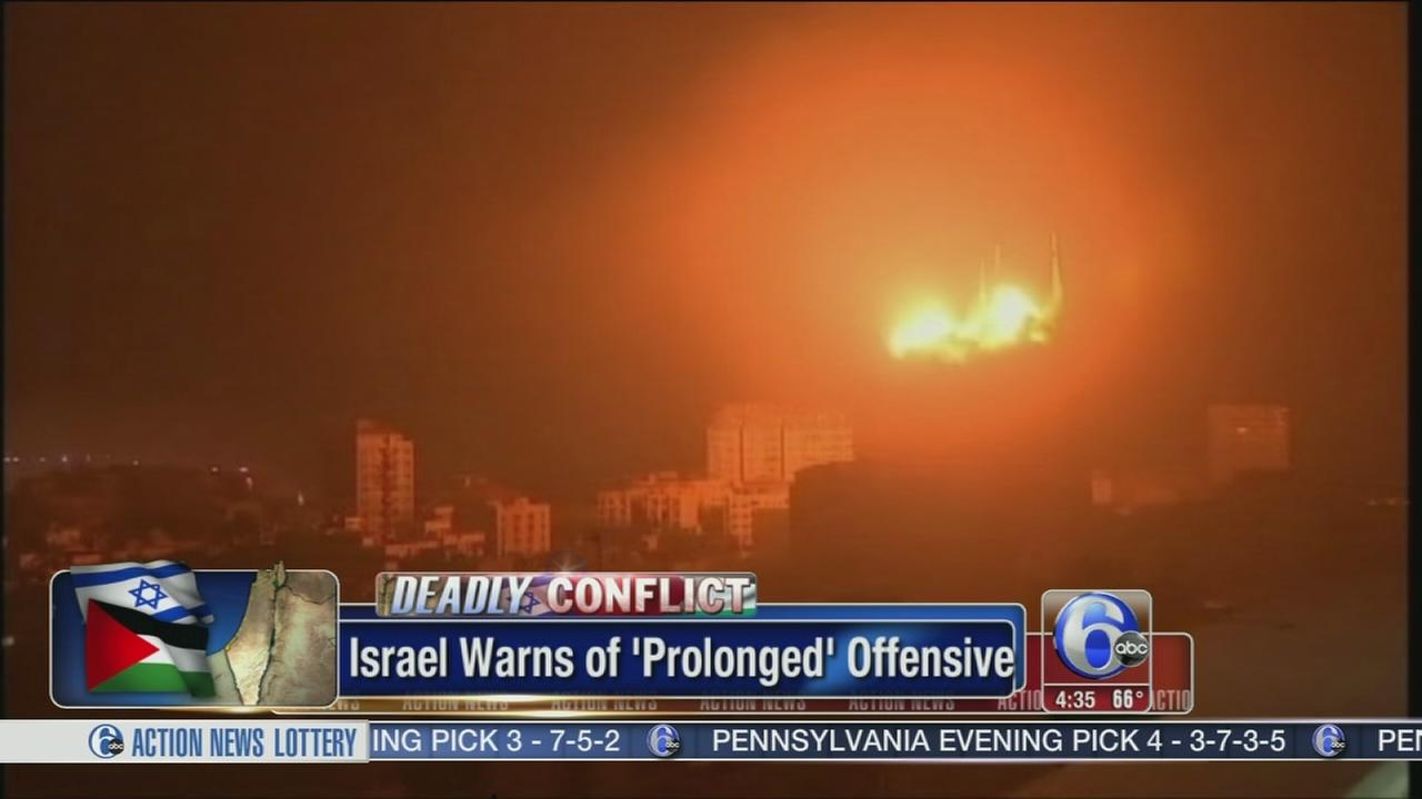 VIDEO: Israel hits symbols of Hamas power in Gaza war