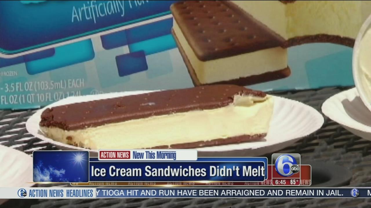 VIDEO: Ohio mom says ice-cream sandwiches didnt melt