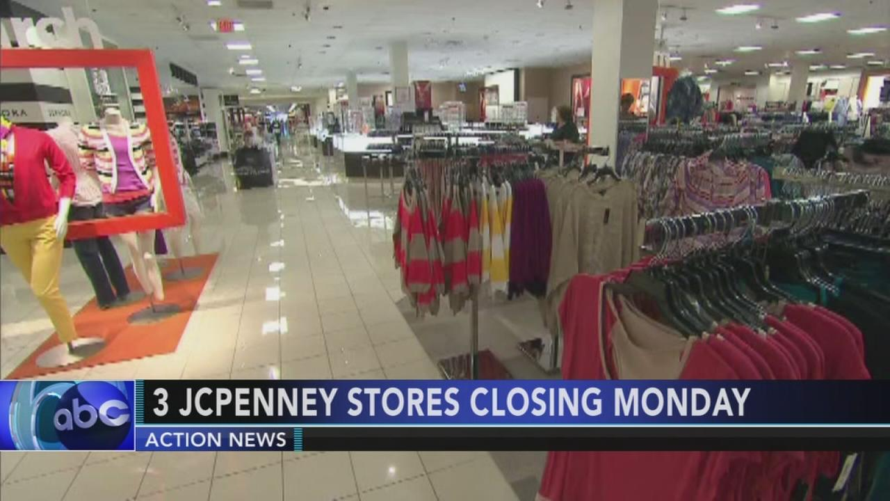 3 local JC Penney stores closing