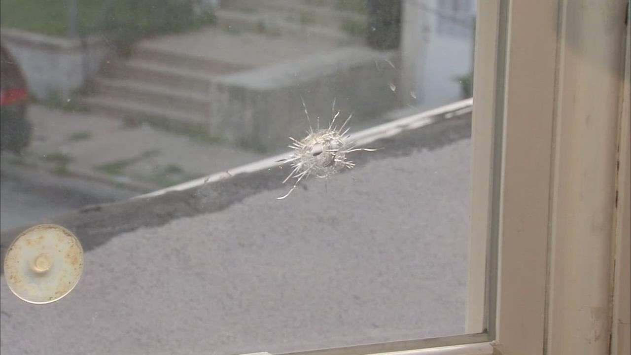 Stray bullets hit teen girl, narrowly miss child