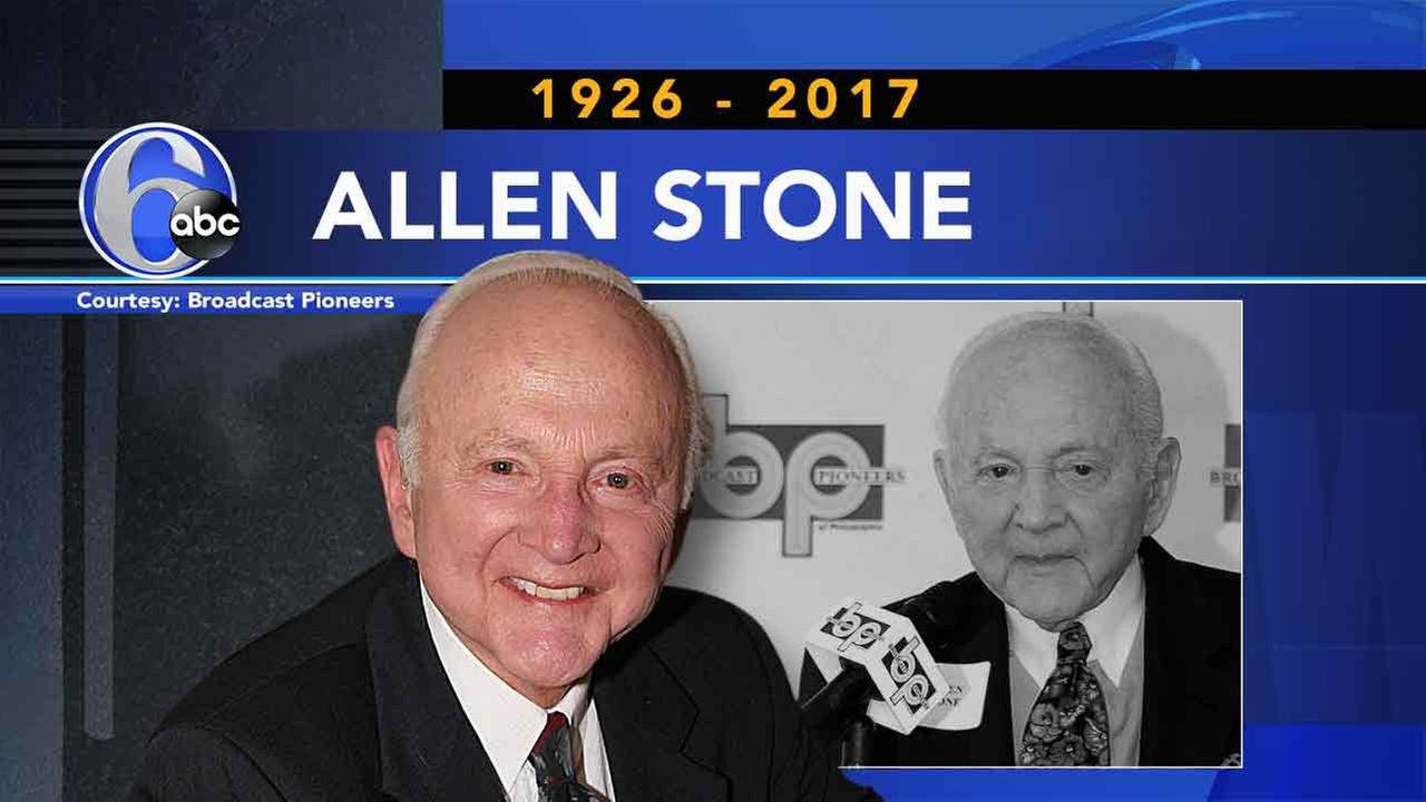 Allen Stone, famous Philadelphia radio voice, dies at 91