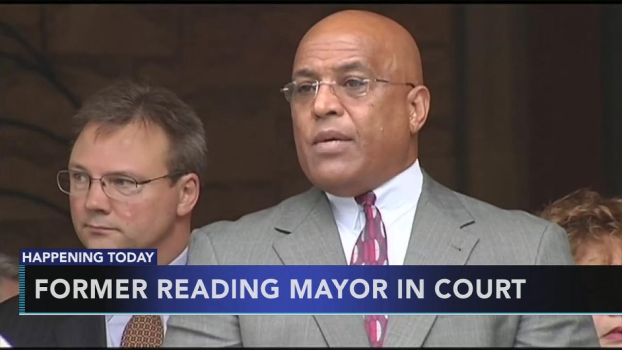 Ex-mayor of Reading in court