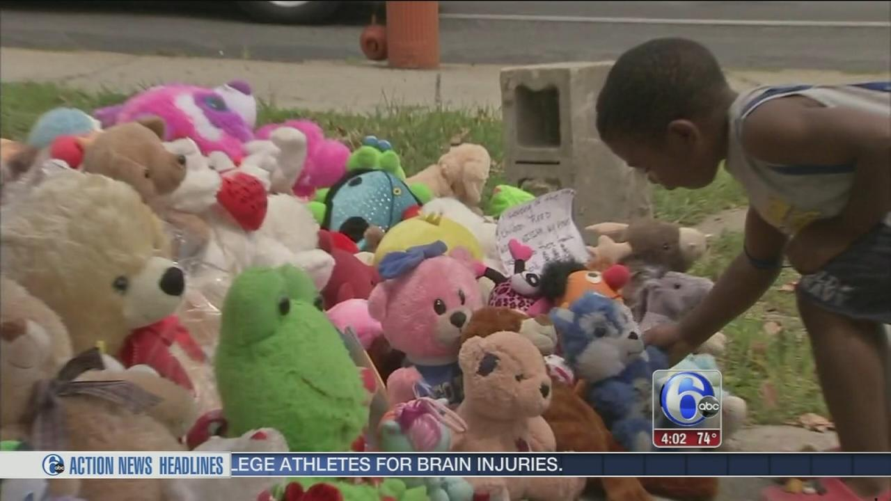VIDEO: Memorial grows for carjacking crash victims