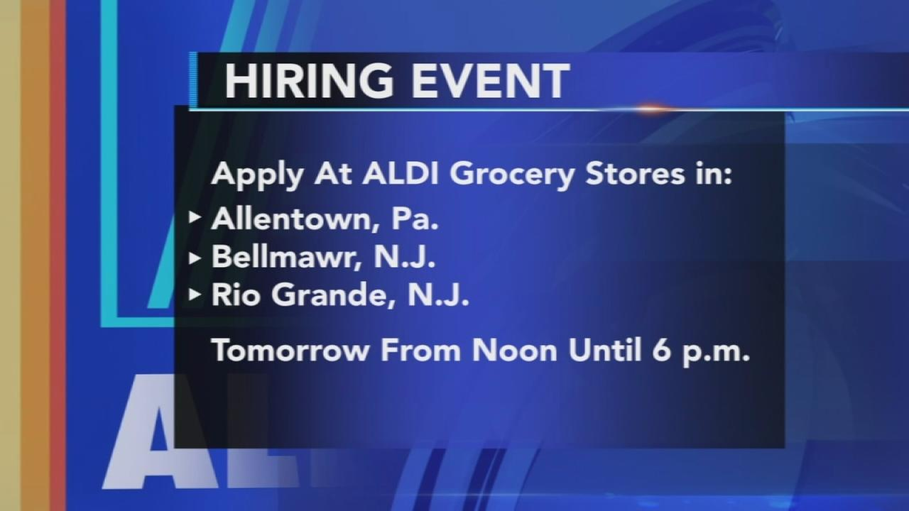 Aldis Job Fair