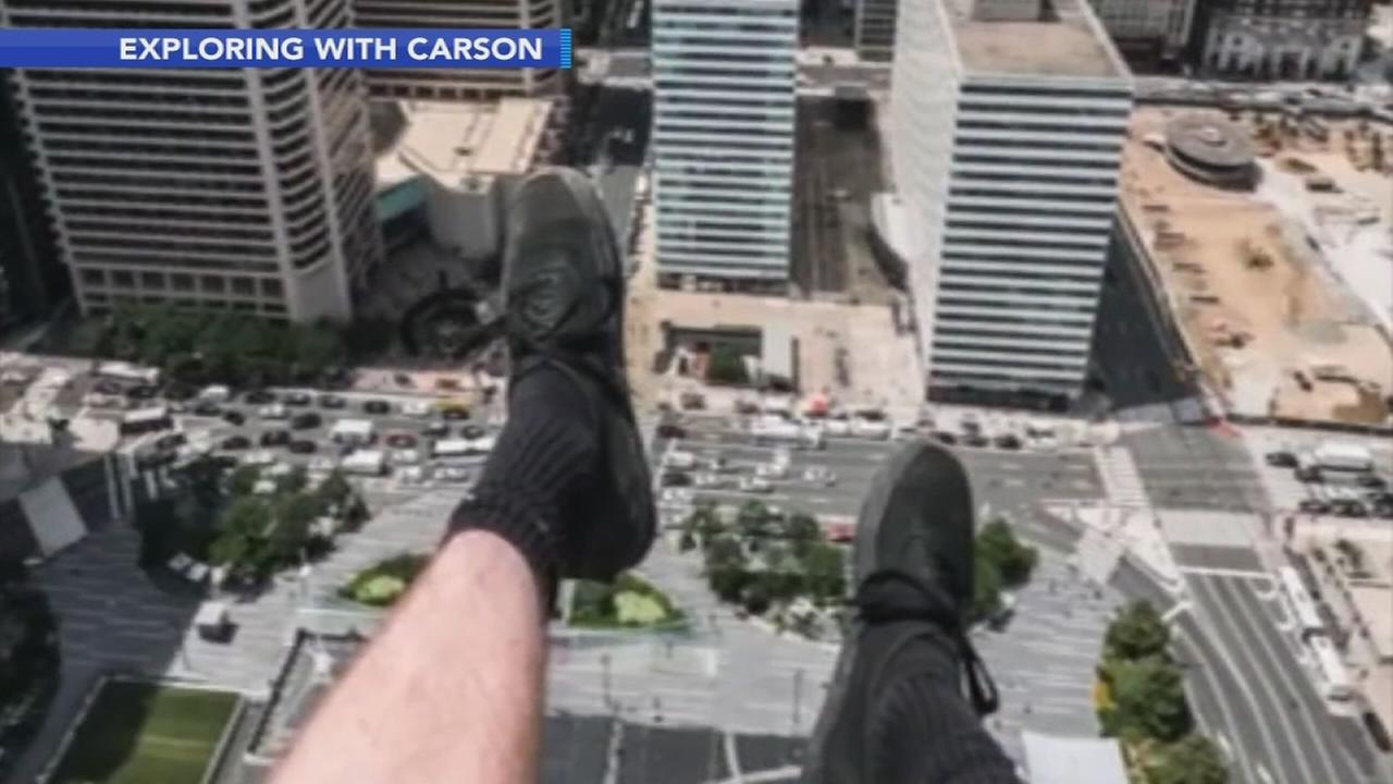 VIDEO: Man climbs Philadelphia City Hall tower