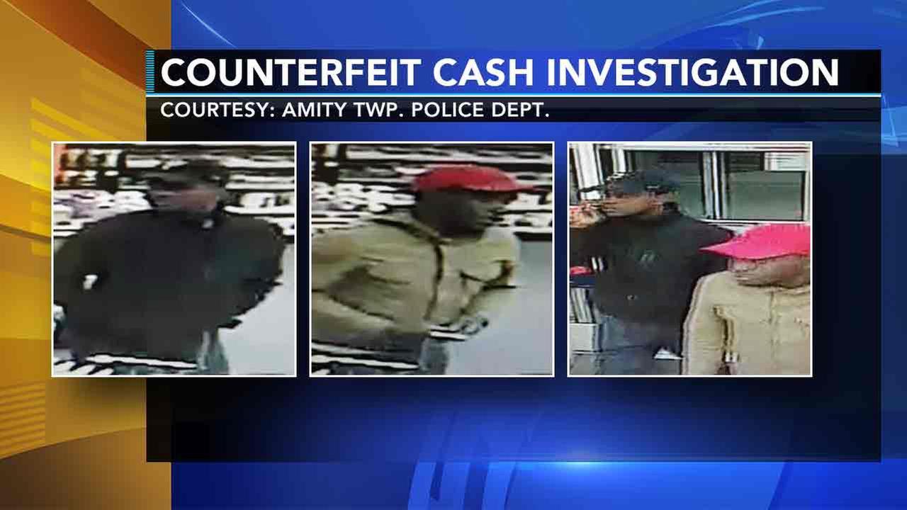 Police: 2 men using fake $100 bills across Delaware Valley