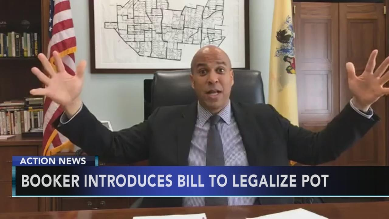 Booker bill would legalize marijuana at the federal level