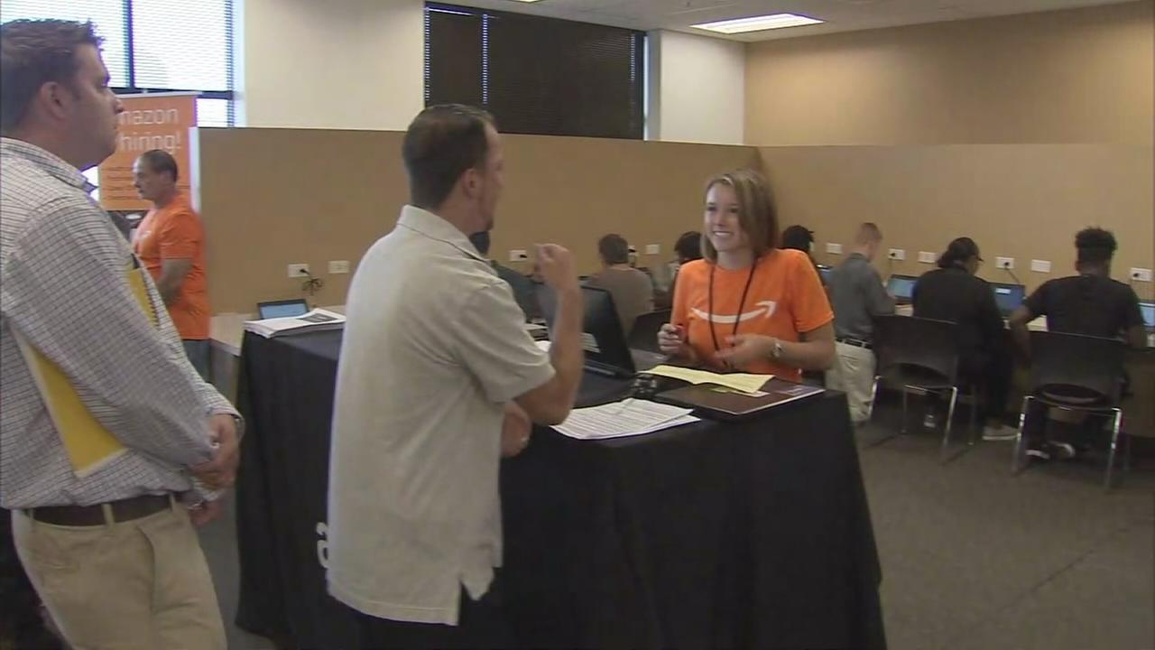 Amazon holds major job fair in New Jersey