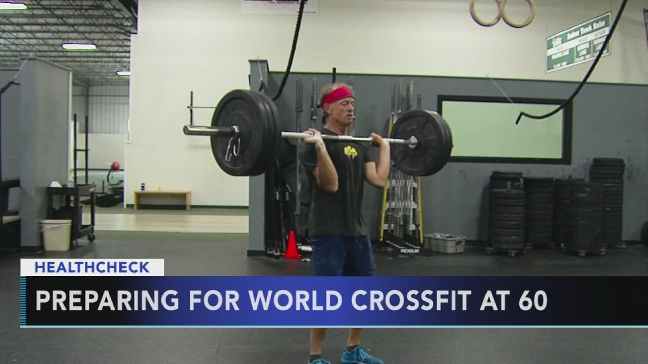 Preparing for World Crossfit at 60