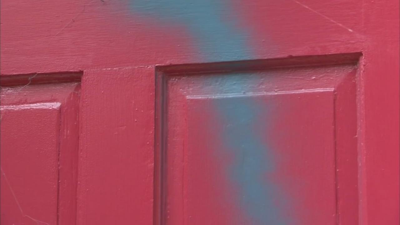 Vandal strikes amid parking battle in New Castle