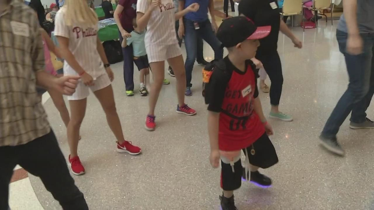 duPont Hospital for Children dance party