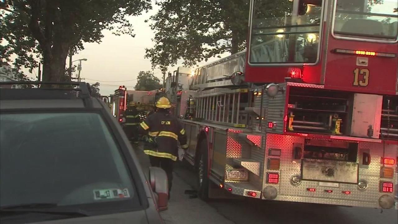 1 person hurt in West Philly fire