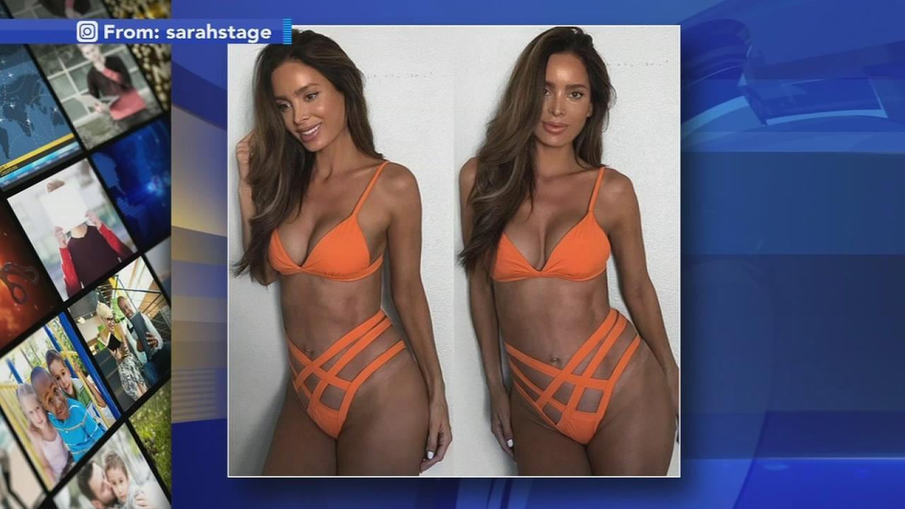 VIDEO: Model mom making waves again