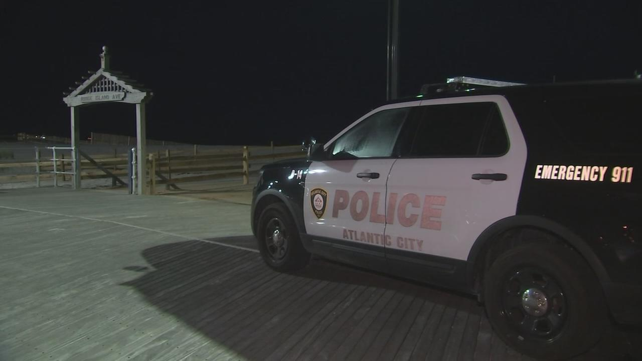 VIDEO: Body washes ashore on beach in Atlantic City