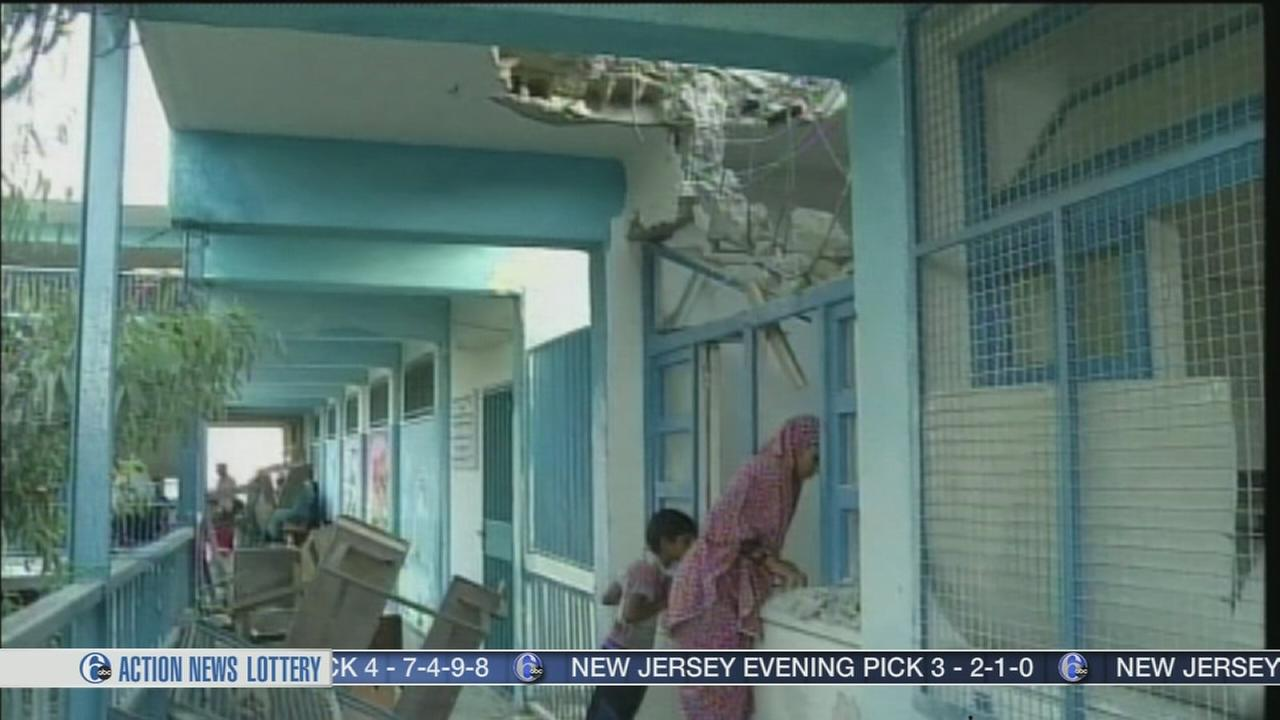 VIDEO: Shells hit UN school in Gaza, kills 15