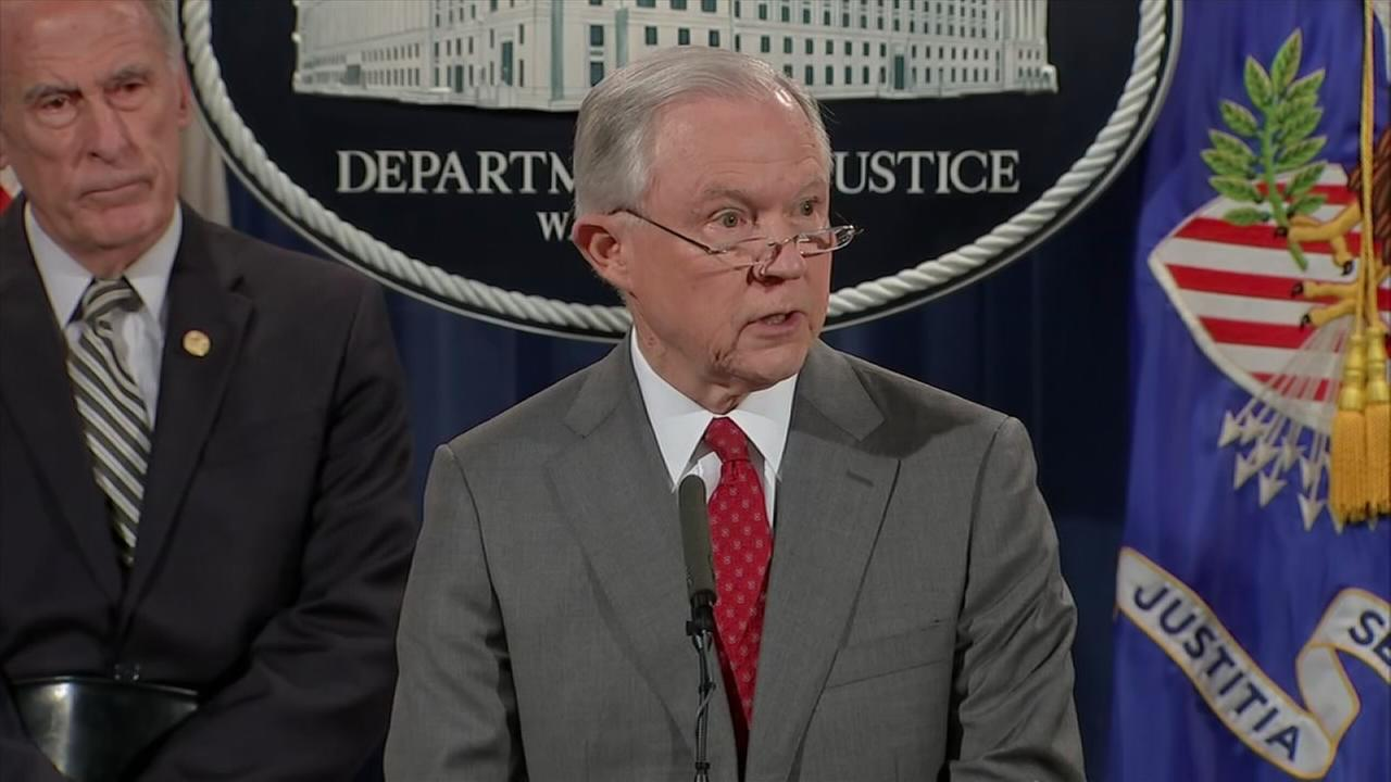 Sessions warns about leaks