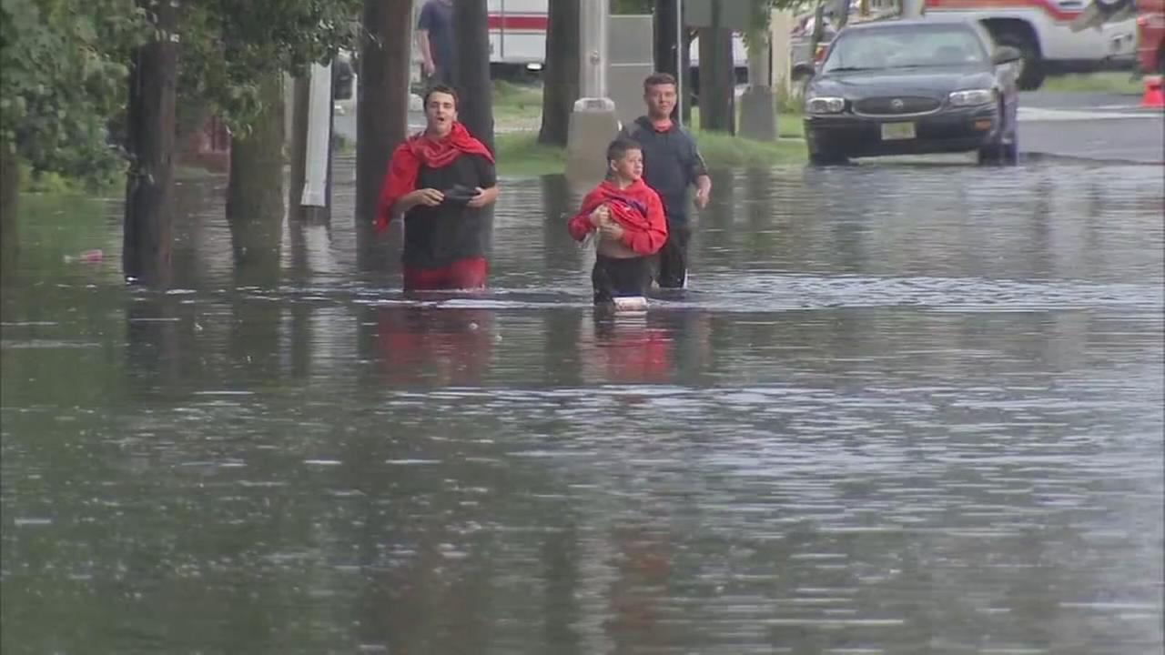 Flooding cleanup continues