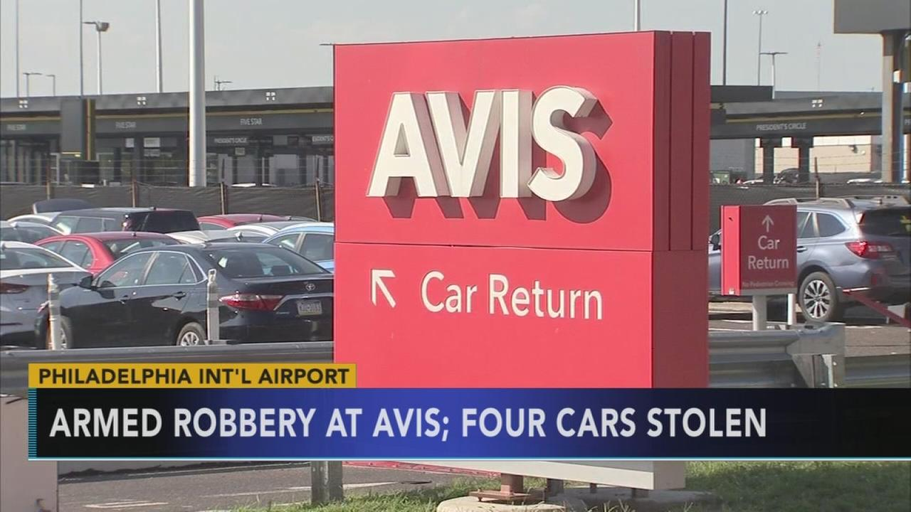 VIDEO: Armed robbery at Avis