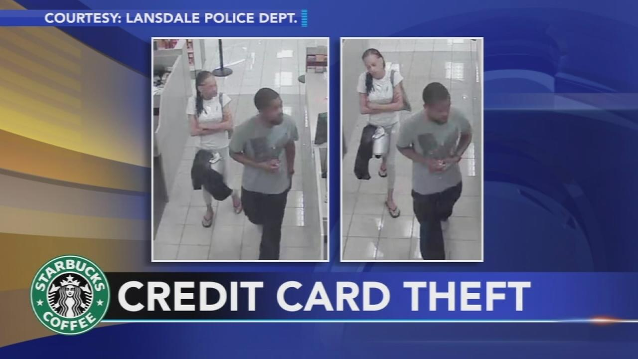 Police seek Lansdale credit card thieves