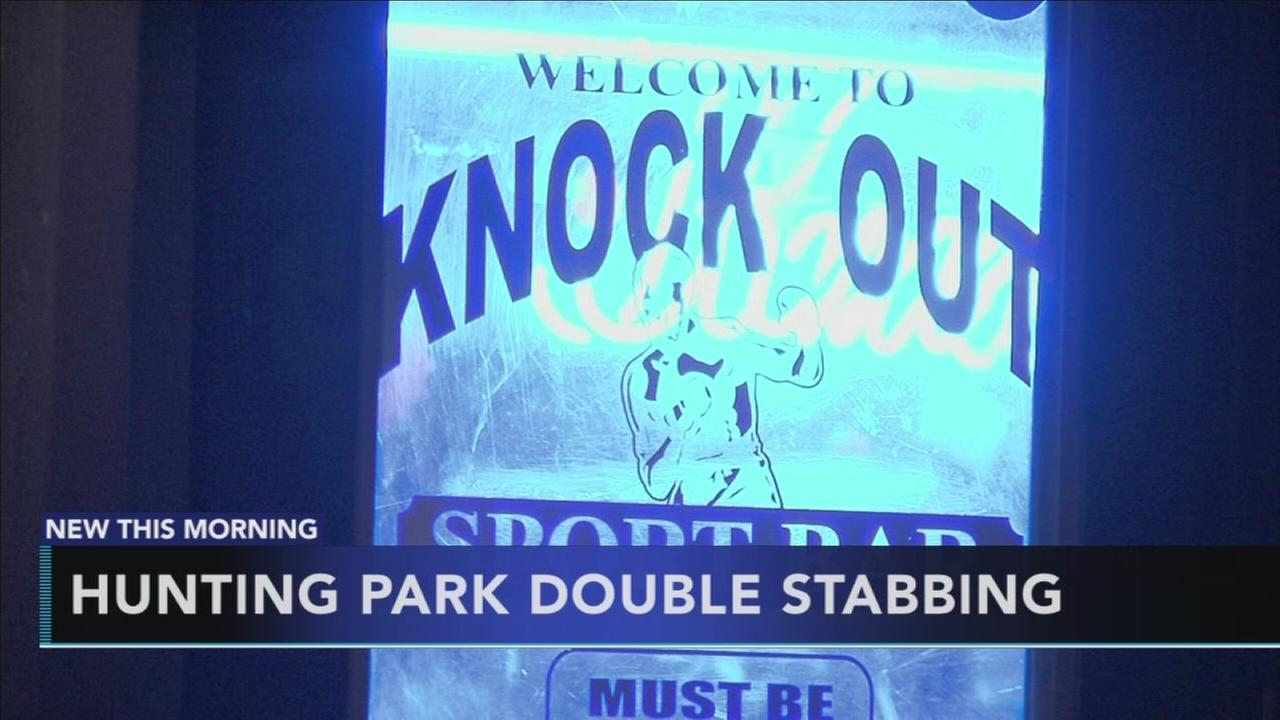 2 injured in knife fight outside Hunting Park bar