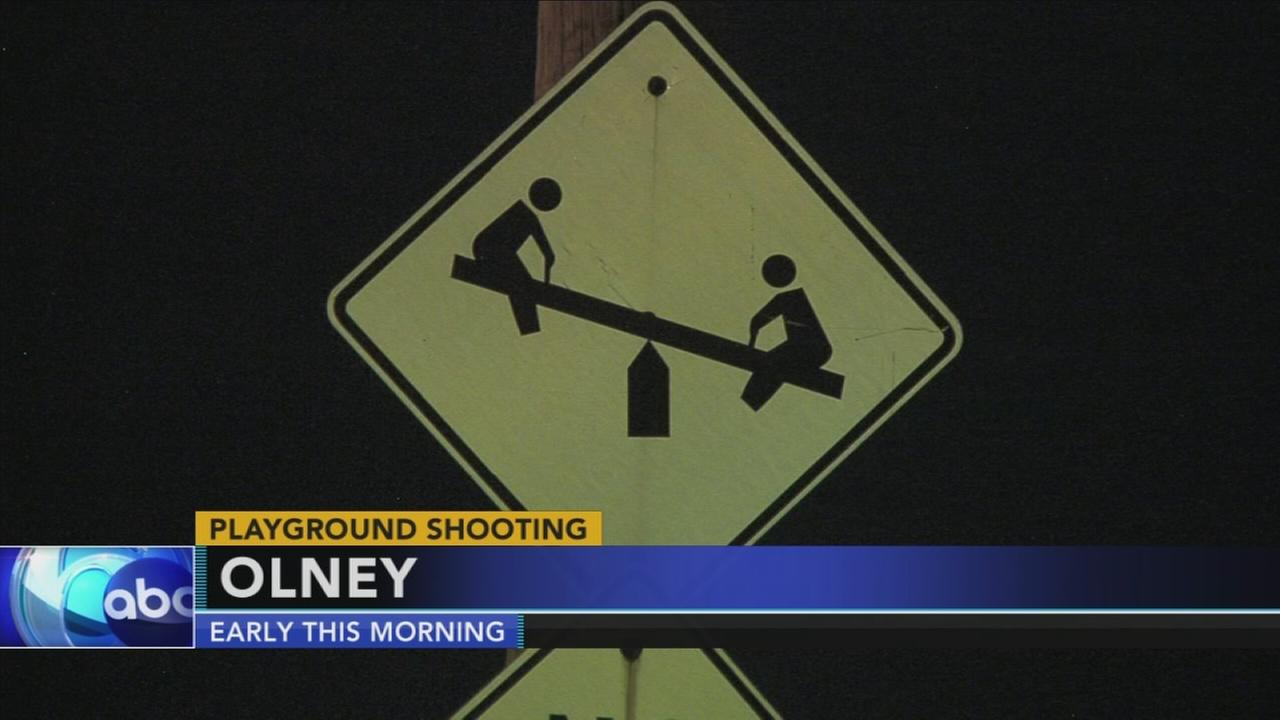 Victim critical after playground shooting in Olney
