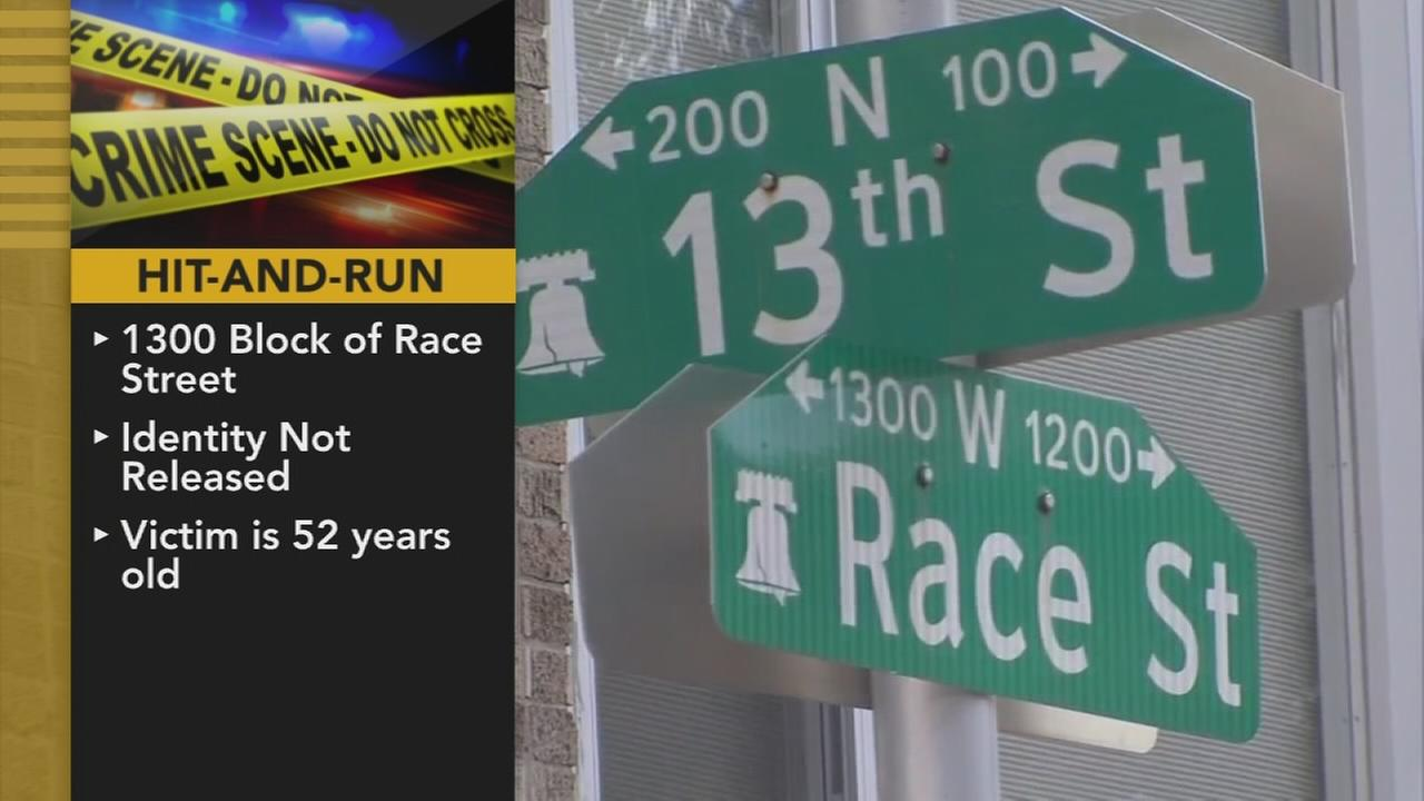 Woman killed in Center City hit-and-run