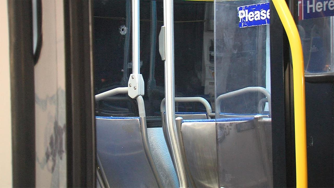 SEPTA bus hit by bullet after gunfire erupts in Chester