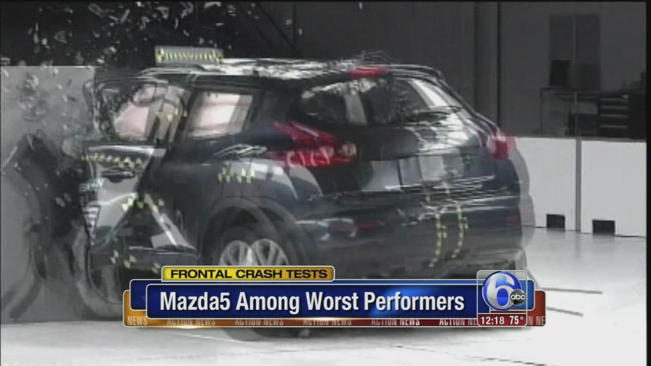 VIDEO: Front crash test results