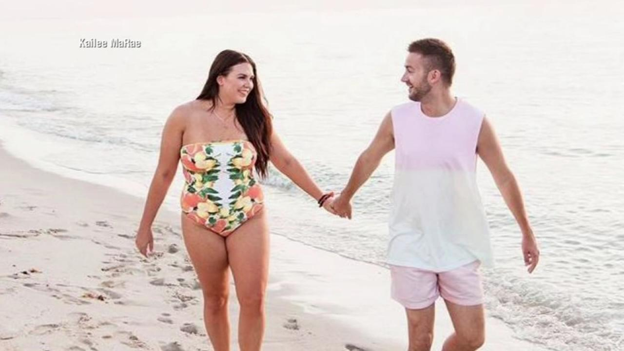 Husband faces backlash after body-positive post about curvy wife