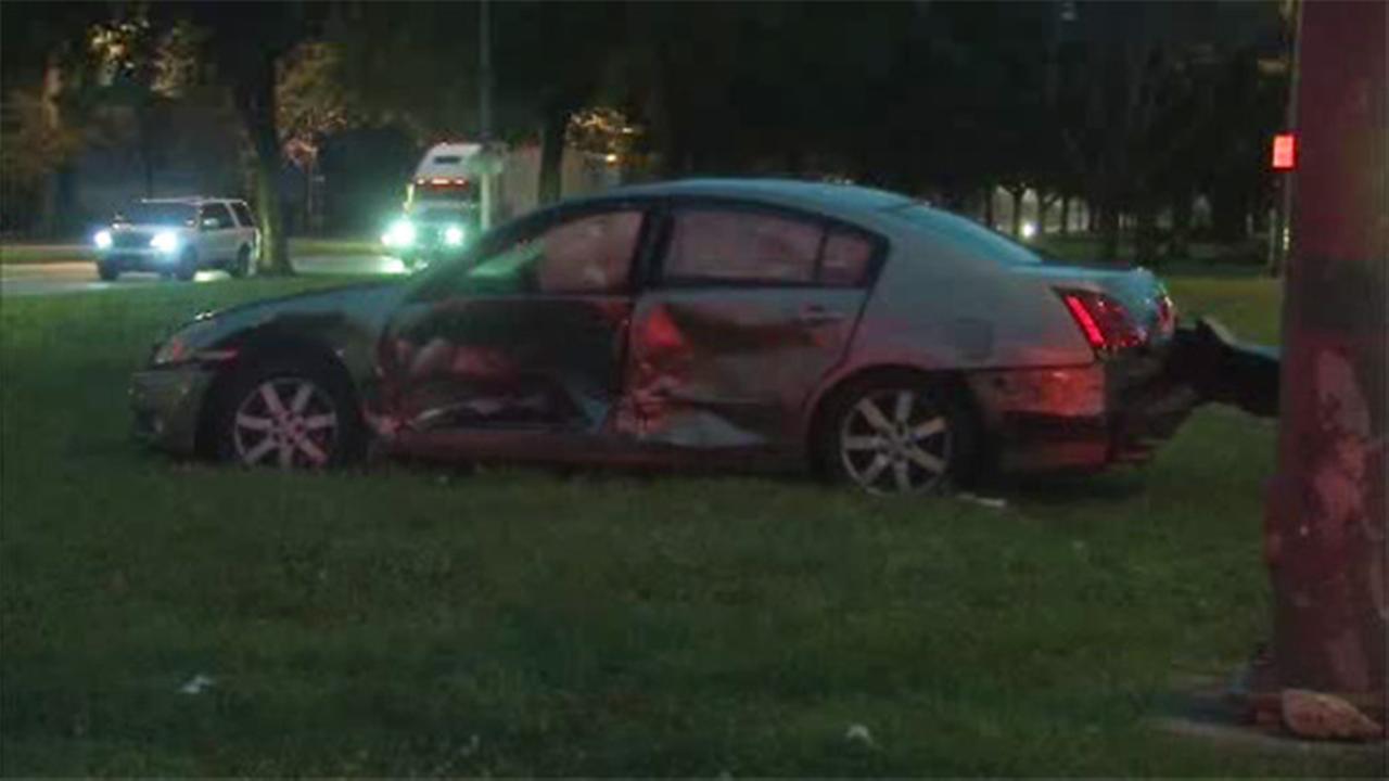 3 cars collide on Roosevelt Blvd. in Olney