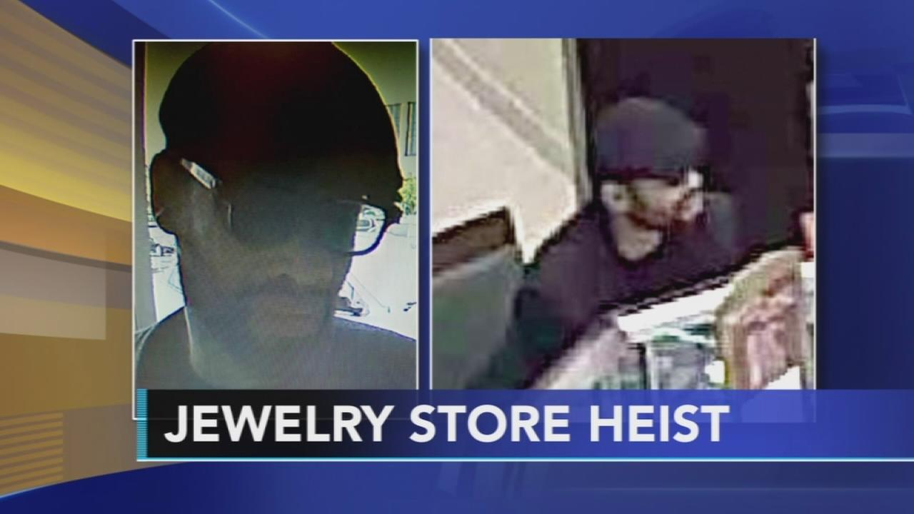 Police Jewel thief hits Cherry Hill Jared store 6abccom